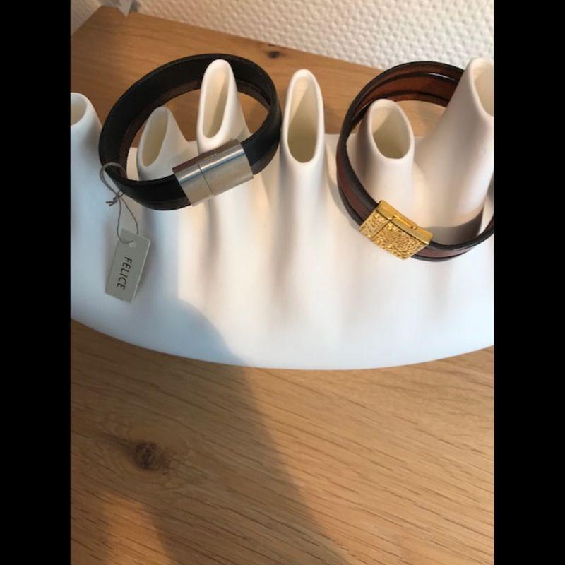 Felice Armband gold Gr L 2390 Euro Armband silber Gr S 46 Euro