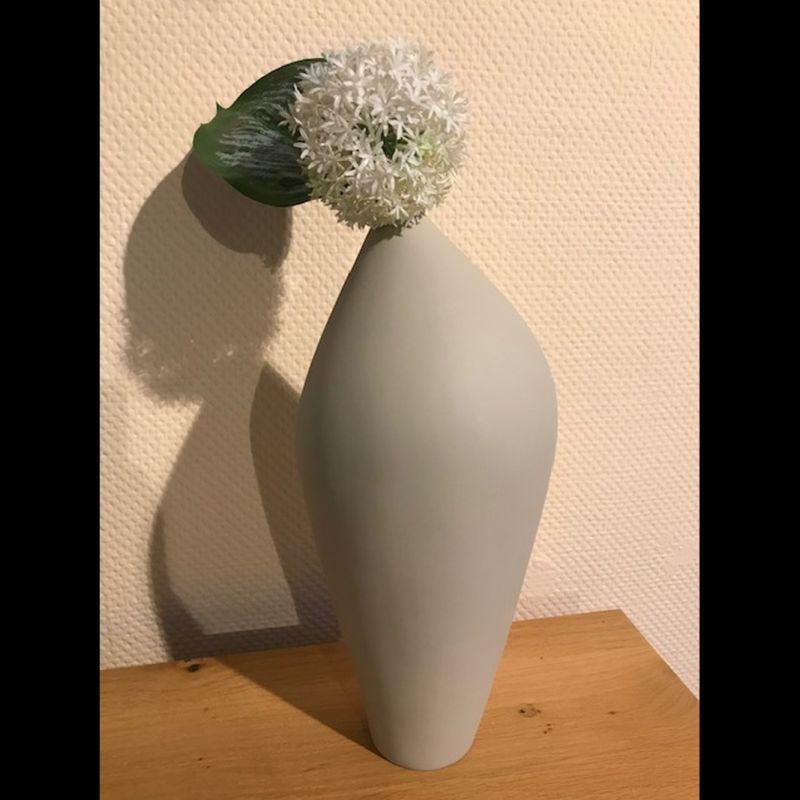 Vase Style grau  DM 15 H 54