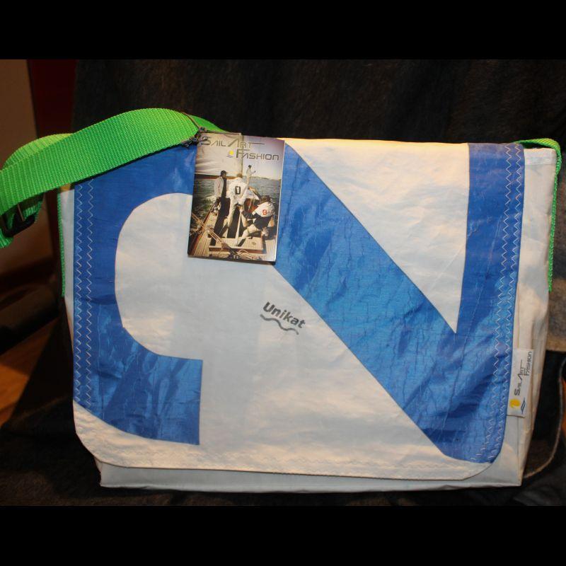 Messenger Bag -Segeltuchtasche - UNIKAT