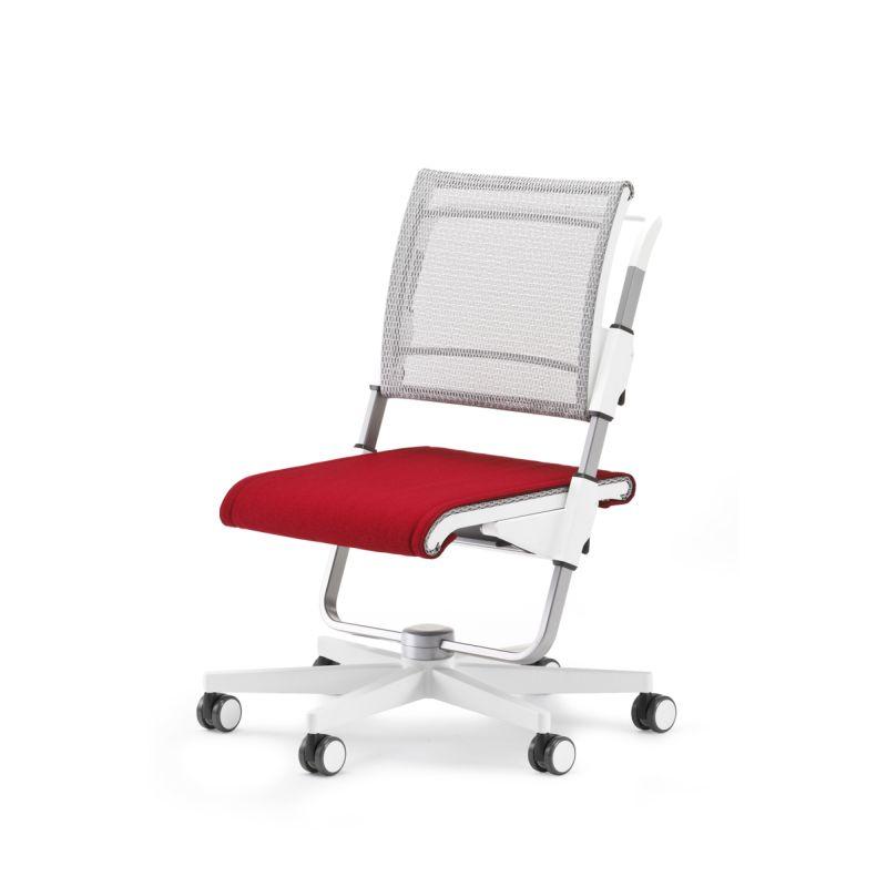 moll Scooter weiss Sitzpolster rot